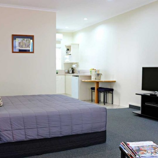 Studio accomodation for 1-2 guests